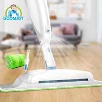 Швабра с распылителем Spray Mop с щеткой для мусора 3 в 1 BOOMJOY JY8818