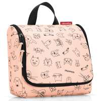 Сумка-органайзер Toiletbag cats and dogs rose REISENTHEL WH3064